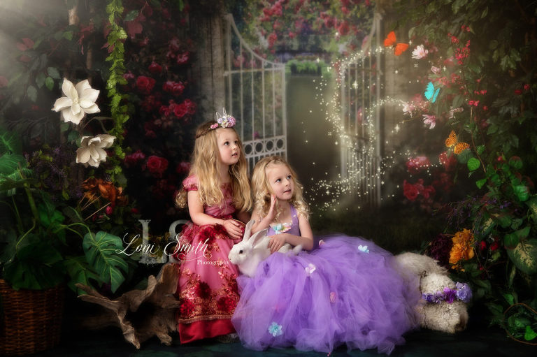 Magical fairytale photography by one of the best photographers in Utah, Loni Smith