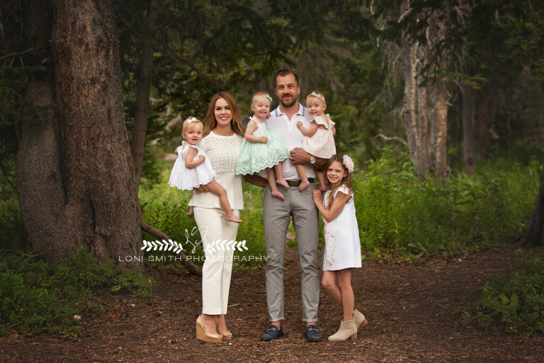 family portraits with Utah photographer Loni Smith Photography